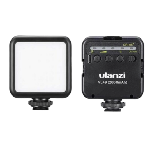 แฟลช มินิ ULANZI VL49 Mini 49 LED Video Light Photography