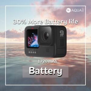 สเปค GoPro 9 - battery