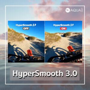GoPro 9 - hypersmooth 3.0