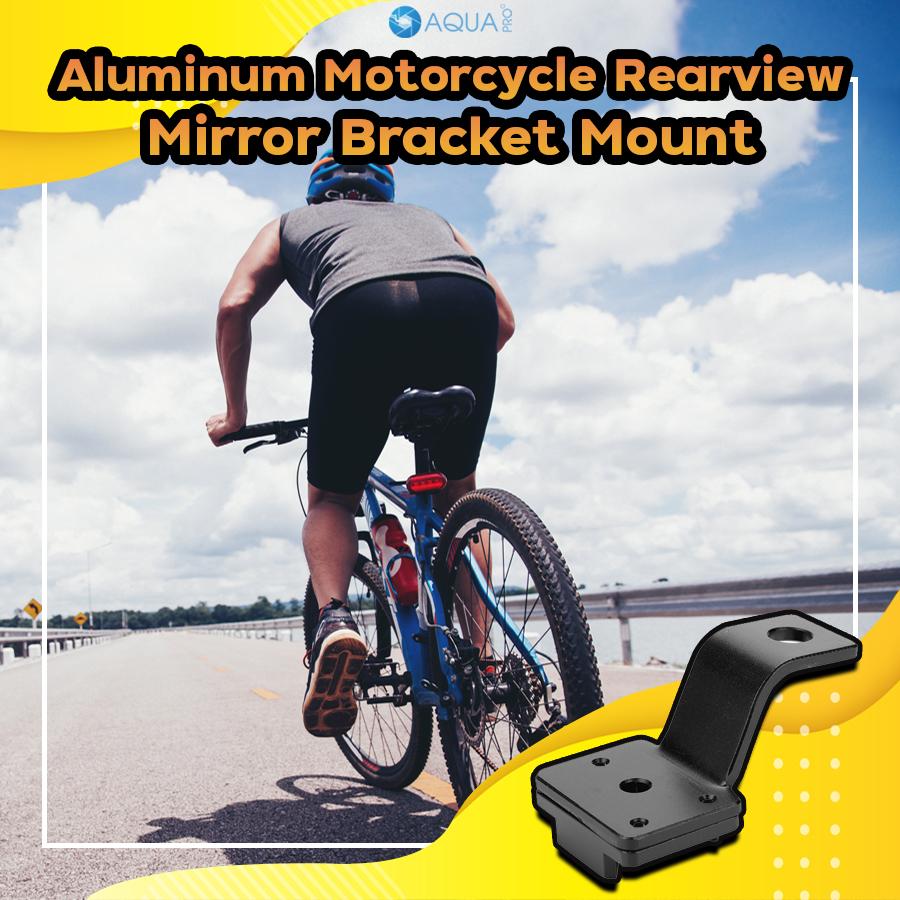 GoPro bike - Aluminum Motorcycle Rearview Mirror Bracket Mount