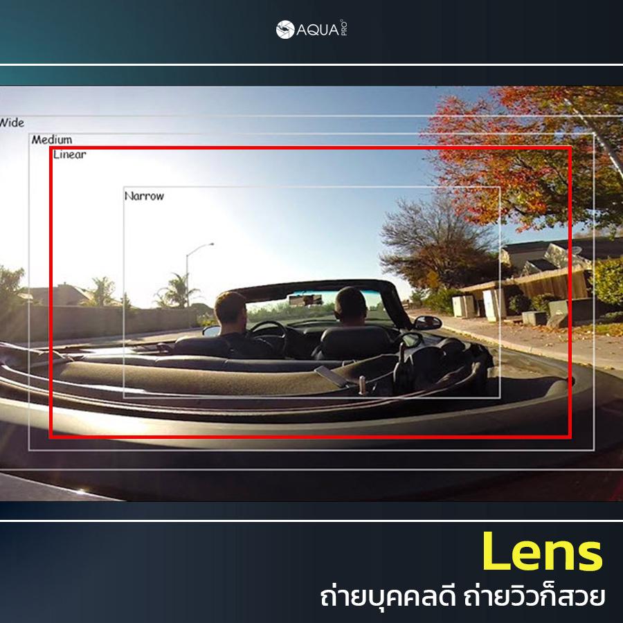 ตั้งค่า GoPro 9 lens