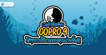 รวม คำสั่งเสียง GoPro 9 ให้ทุกการใช้งานของคุณง่ายขึ้น!!!
